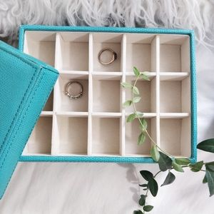 Max StudioTeal Jewelry Organizer Stacked
